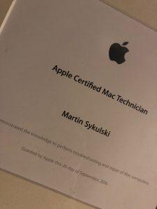 Mac reparation udføres af certificeret Mac tekniker